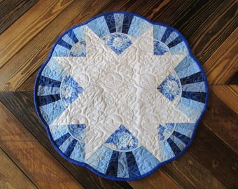 Small Round Table Topper