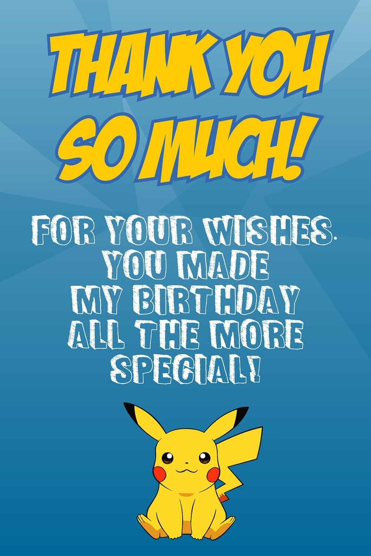 Pokemon Birthday Invitations Invites Printable