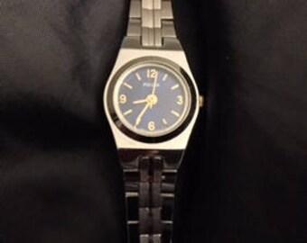 Ladies Pulsar Silver-Toned Watch
