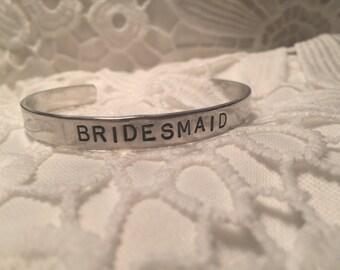 Bridesmaid Cuff