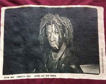Vintage 1992 Rude Boy Jamaica Photo Ras Bun Shaka
