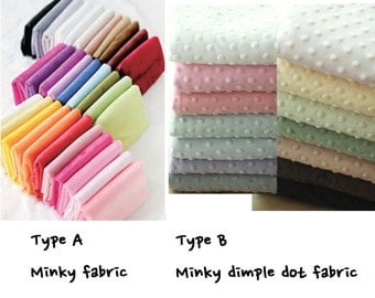 minky fabric/mink fabric/dimple fabric