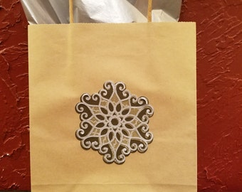 Hand made Christmas gift bag