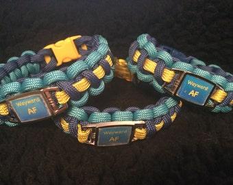 Wayward AF Paracord Bracelet