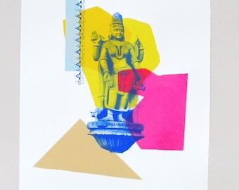 Brahma Devi Screen Print