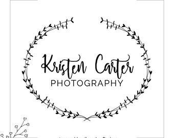Photography Logo, Business Logo, Salon Logo, Logo Design, Instant Download Logo, Photography Signature Logo, Premade Logo Design, 056