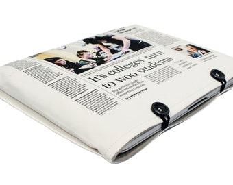 "2016 13"" Macbook Pro Retina Chicago Tribune Newspaper Case Macbook 13 sleeve Macbook 13 inch case Macbook 13 Retina case Macbook 13 cover"