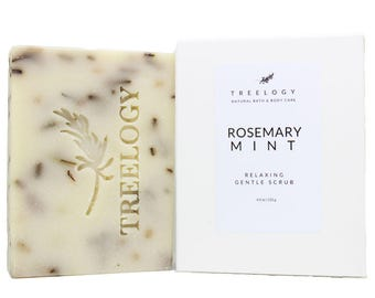 Bar Soap Rosemary, Rosemary Handmade Soap, Soap, Rosemary,
