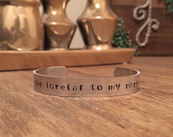Lorelai to my Rory, Gilmore Girls Bracelet, Gilmore Girls,  Where You Lead I Will Follow