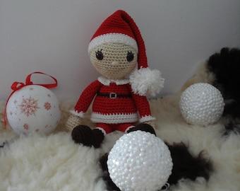 A Little Elf boy pattern, christmas amigurumi pattern