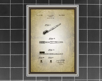 Vintage Bathroom Wall Decor bathroom posters bathroom patents bathroom patent art