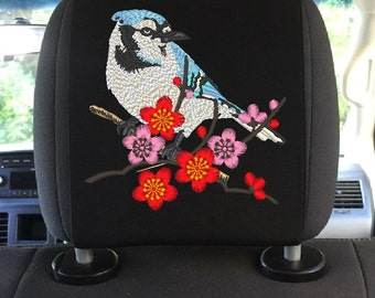 Headrest cover