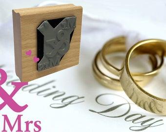 Mr & Mrs Rubber Stamp