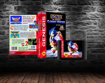 Sonic Classic Heroes - Speedy Tag-Team Action through Sonic 1 - GEN