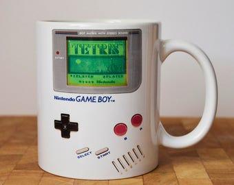 Gameboy Mug, Gamer Mug, Retro Game, Gift for him