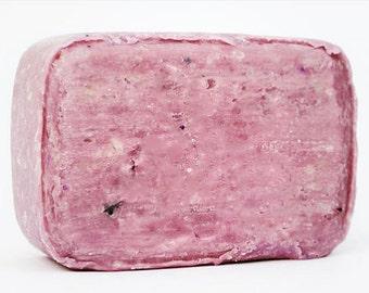 Violets handmade artsian organic natural soap