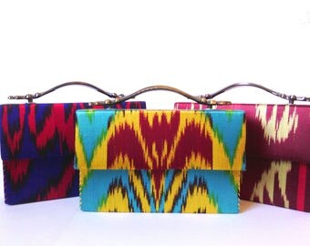 Luxerious mini ikat bag (purse)