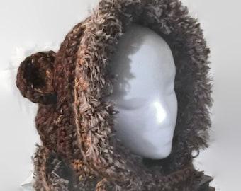 Bear Hood / Scoodie