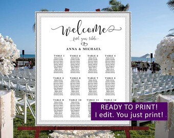 Wedding seating chart,Wedding find your sit,Wedding seating board,Rustic wedding seating plan personalized,Rustic wedding seating chart,23