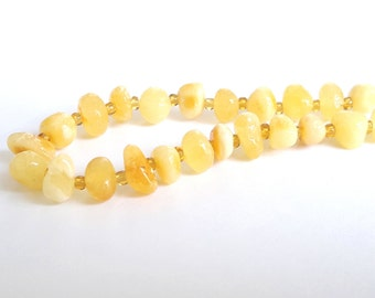 Baltic amber necklace for babies milk honey amber necklace for kids amber baby necklace for teething amber child jewelry