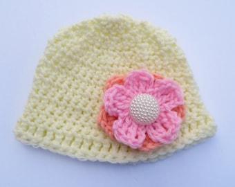 Interchangeable Flower Hat