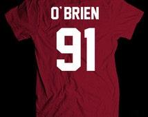 Dylan O'brien 91 shirt, unisex size t-shirt