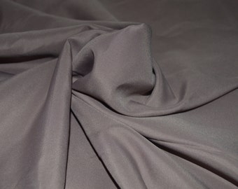 """Rosey Taupe Pongee Lining Fabric 60"""" Wide"""