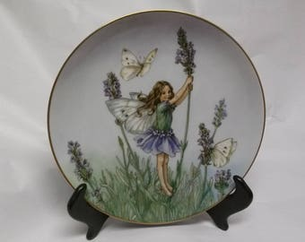 The Lavender Fairy Collectors Plate