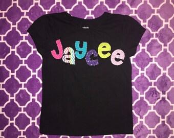 Custom Personalized Name Shirt