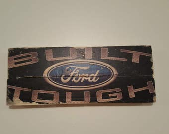 Ford Wall Sign - Reclaimed Wood - Pallet Art - Fathers Day Gift - Man Cave - Garage Art - Gifts For Him