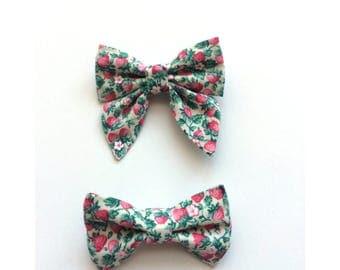 Strawberry Bows