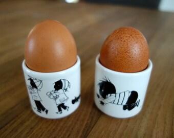 Fiep Westendorp Jip and Janneke ceramic children's egg cups
