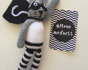 MADE TO ORDER - Crochet Spencer Super Hero Hare Bunny