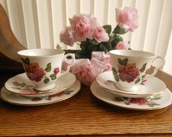 Gainsborough Rose Pattern Tea for Two