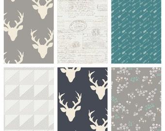 Woodland Cotton Fabric Bundle - Art Gallery Fabrics