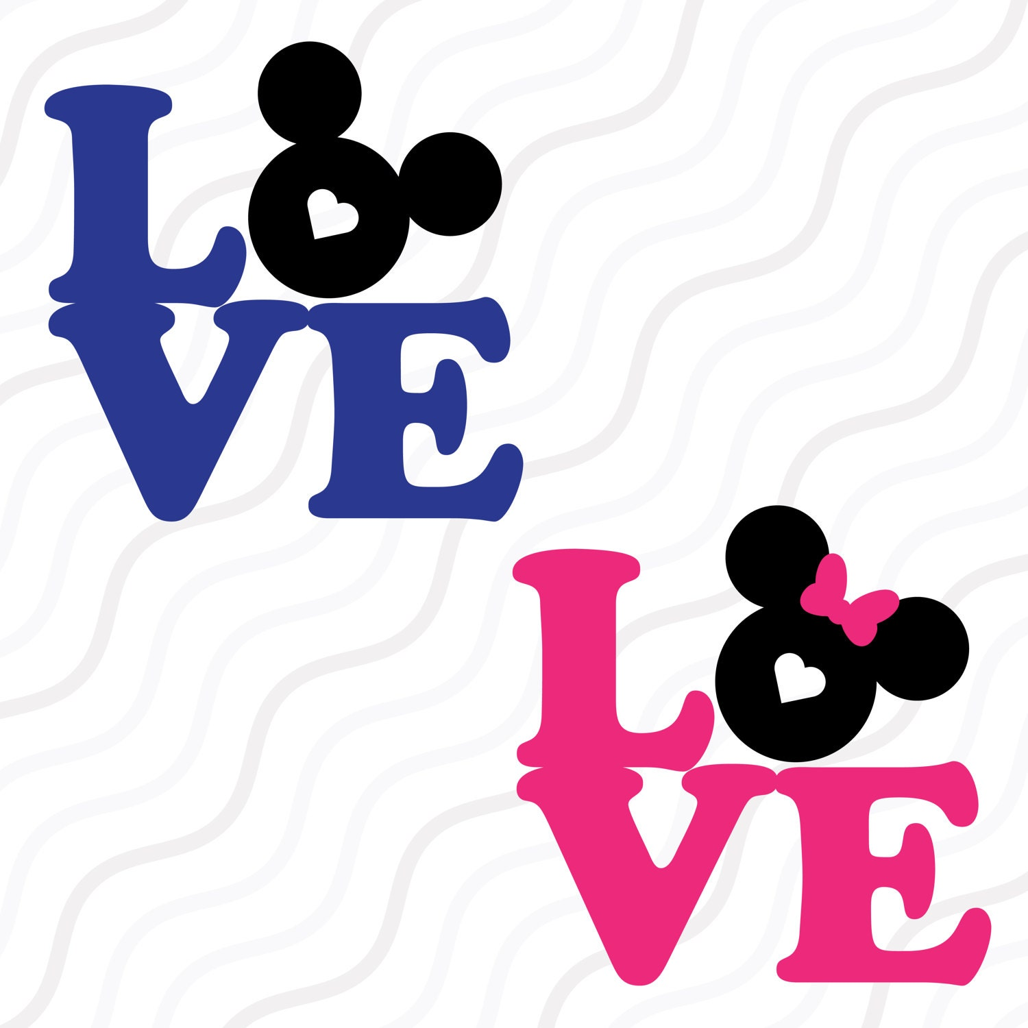 Download Love Mickey Mouse SVGDisney Valentine SVGLove Quote SVG Cut