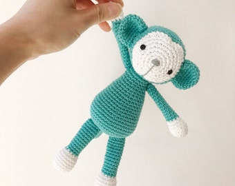 MONKEY crochet amigurumi, crochet monkey, amigurumi monkey, monkey baby gift, monkey children toy, monkey toy, nursery decoration, gift kids
