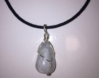 Rainbow Moonstone Necklace