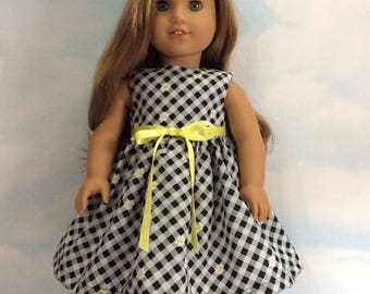 Gingham dress with Daisy's sundress