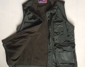 Tactical Vest w/fleece lining size small