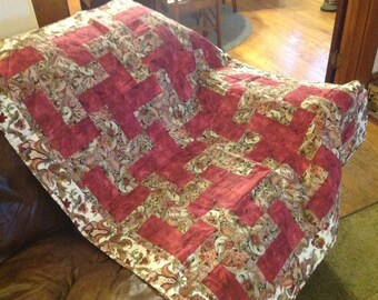 Lap quilt, quilt, lap throw, quilted lap throw, home decor, couch quilt