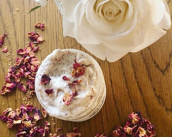 Rose Shea Butter Body Scrub - All Natural