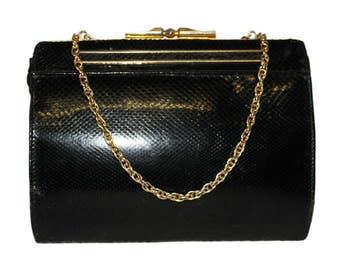 1940's Snake Skin Shoulder Bag