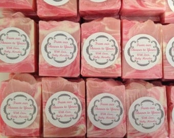 Soap favors for all occasions (bridal, baby, wedding showers, bachellorette party, birthday)