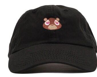 Kanye West College Dropout Bear Dad Hat