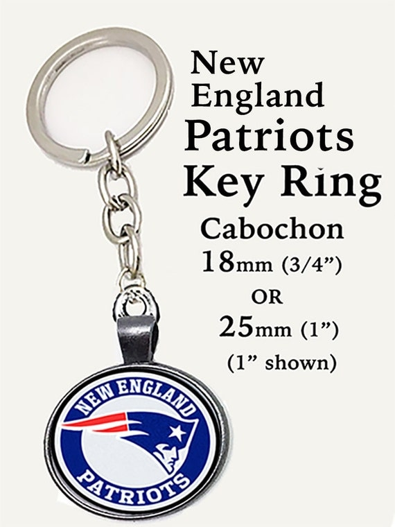 NEW ENGLAND Key Ring - 2 sizes **FREE SHiPPING**