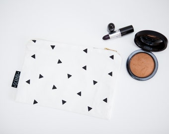 Triangle Cosmetic Pouch