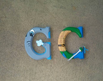 Individual Personalized Block Letter