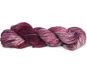 Hand Dyed Yarn 'Love Shack' - Sock Weight Hand Painted Tonal/Varigated Yarn - 100g of 75/25 Merino/Nylon Blend Superwash 4-Ply Yarn
