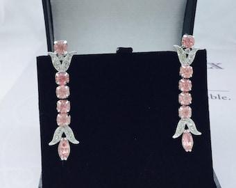 1960's Coro Rhinestone Earrings